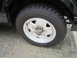 タイヤもバリ山です!