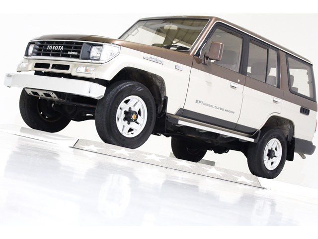 トヨタ ランドクルーザープラド 2.4 EX ディーゼル 4WD リアデフロック付 Tベ済 噴射ポンプ修理