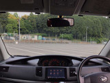 ご覧のように、視界が広く運転しやすいように設計されています。