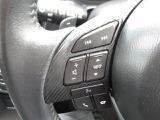 ステアリングには、運転しながら手元でオーディオ操作が可能なオーディオコントロールスイッチを装備。また音声認識も対応しておりオーディオ、電話、ナビゲーションの一部操作を音声認識で行うことが出来ます。