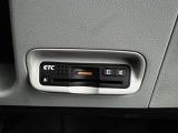 遠出時に便利なETCもついております☆高速道路など、ドライブする際にはありがたい装備です。