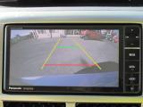 <バックカメラ>車庫入れが苦手な方でもモニターに後方の映像が映し出されるので運転に自信がない方でも安心!※モニターの見すぎは危険ですので目視確認も忘れずに!!