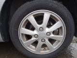 かっこいいアルミホイールです。タイヤの残り溝も十分残っています。