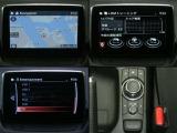 マツダコネクト 7インチセンターディスプレイにナビやフルセグTV(走行中は音声のみ)などエンターテーメント機能を凝縮。拡張機能も充実 Bluetooth USB AUX CD/DVD/TVまで装備!