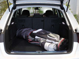 ●ゴルフバッグを搭載するとご覧のようになります。