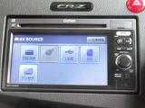 CR-Zに付いているオーディオは純正Rカメラ付ディスプレイオーディオです。CD再生、USB接続がご使用いただけます。お好みの音楽を聞きながらのドライブは楽しさ倍増ですね!
