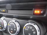 寒い日に嬉しいシートヒーター。フルオートエアコンで車内はいつも快適!