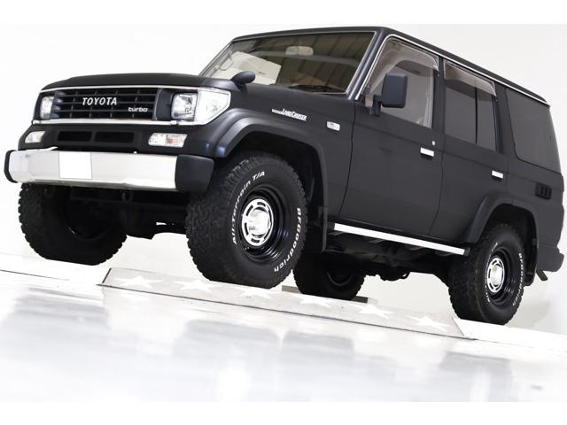 トヨタ ランドクルーザープラド 2.4 EXワイド ディーゼル 4WD ヴィンテージ16インチAW デフロック付