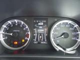 スピードメーター・オドメーター(総走行距離を表示)・燃料計等の付いた、見やすいメーターパネルです☆