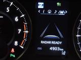 レーダークルーズコントロール☆高速道路で定速走行だけでなく、先行車との車間距離を適切に保ちながら追従走行も可能です。