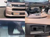 【スマートアシスト2】バンパーのレーザーとフロントガラスの単眼カメラにより前方の車を感知し、緊急ブレーキで衝突を回避。ブレーキとアクセルを踏み間違えても進みません。あくまでも補助的なものとなります!