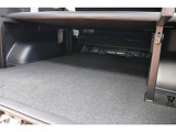 ベッド下は収納スペースとしてお使いいただけます!!