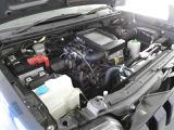 エンジンルームも念入りに清掃しております。インタークーラー付きターボエンジンです。