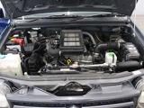 パワフルなインタークーラーターボエンジンです。