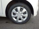 装着タイヤ(155/65R14)スチールホイール付き冬タイヤ