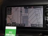 7インチサイズのトヨタ純正SDナビです。地デジ(フルセグ)の視聴できます。
