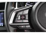 新型インプレッサはステアリングオーディオリモコンスイッチは全車標準装備です。ハンドルから手を離さずオーディオのボリューム・ミュート・選曲等ができます。