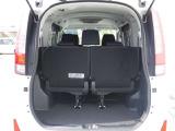 荷室も幅があり荷物も載せやすいです。