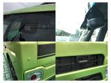 衝突回避支援システム(スマートアシストII)搭載!レーダーにて前方の障害物を検知し、後方の障害物はソナーで検知し、ドライバーへ警報。状況によってはクルマを停止させてくれます。