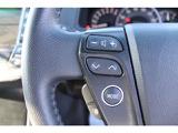 【ステアリングスイッチ】ハンドルから手を離さずにオーディオ操作できます。
