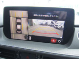 ★360°ビューモニター★4個のカメラから得た画像を車両上方から見下ろしたような映像で表示することで車と路面の駐車枠の関係を一目で確認できます!