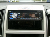 CDステレオが付いてます。 カーナビやドライブレコーダーなどの事もおまかせ!