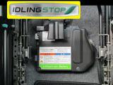 進化した【アイドリングストップシステム】。従来より燃料を使わない領域を拡大しさらなる低燃費を実現!