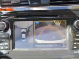 アラウンドビューモニター搭載  上空から見下ろしたかのような映像で車両の周囲を確認することが出来るので便利です☆
