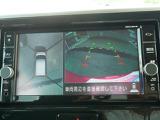 全方位カメラのアラウンドカメラ付で衛星写真みたいに写り、バーチャル画像で駐車が出来ます。