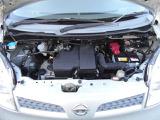 当社は一年又は二年、走行キョリ無制限の全車ワイド保証付(詳細についてはスタッフにお尋ねください)。 ◆エンジンルーム