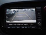 リアカメラが装着されているので駐車も楽にできます!