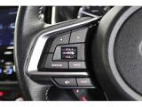 現:GK型インプレッサはステアリングオーディオリモコンスイッチは全車標準装備です。ハンドルから手を離さずオーディオのボリューム・ミュート・選曲等ができます。