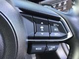 レーダークルーズコントロール付車です、こちらのステアリングスイッチで設定が可能、車間距離の認識、追従走行等が可能です。