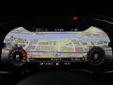 【美しい!】フルデジタルメーターの「バーチャルコックピット」。ずっと眺めていたくなるほどの映像美です。