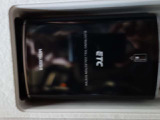 ETCはサンバイザーの後ろにスマートに収納できてETCカードの出し入れも簡単です。