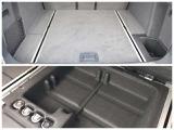 ラゲッジルームの床は二重式