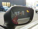 ドアミラーに内蔵されているLEDで後方車両の接近を教えてくれるブラインドスポットモニタリング。