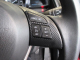 ボタン操作一つでアクセルペダルを踏まずとも一定速度で車が走ってくれます!!ストレス軽減につながりますね☆