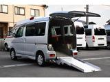 ダイハツ アトレーワゴン フレンドシップ スローパー リヤシートレス仕様 折り畳み補助シート付