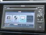 オーディオはホンダ純正ディスプレイオーディオ WX-151C が装着されております。CDチューナーはもちろんワンセグテレビもご覧になれます。ご休憩の時も楽しくなりますね♪
