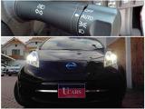 白色LEDを使用したヘッドライトは明るいのに節電、しかも長寿命。さらにトンネルなどで便利なオートライト付きです!