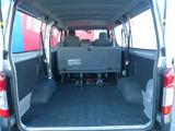 トランクも広くつめる空間もしっかりとあります!