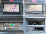 今では必需品のアイテム!VW純正HDDナビ!知らない道もナビがあれば安心!フルセグも付いてます!お客様のカーライフを快適にサポートしてくますね♪