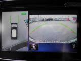 アラウンドビューモニター、車の周囲がナビ画面で確認でき、駐車の際、とても便利です。