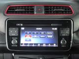 電気自動車専用のメーカーオプションナビです。充電スポットの検索や、タイマーエアコンなどの設定ができます。