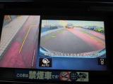 左サイドモニター運転席から死角となりやすい車両左前部分もバッチリ見えます♪