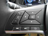 ステアリングスイッチで手を離さずにボリューム調整やオーディオ操作などが可能です。
