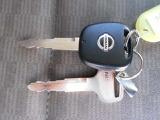 リモコンキーつきなので離れた場所から鍵の開閉ができるので、とっても便利!