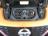 急速充電用と普通充電用の2種類の充電ポートが装備されています