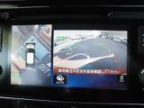 アラウンドビューモニターを装備♪上空から見下ろしているかのように視点でスムーズな駐車と安全確認をサポートしてくれます!